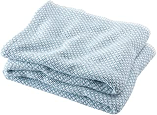 product image for Brahms/Mount Edgecomb Blanket | Cotton - Shore - Twin