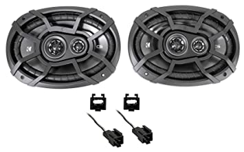 Kicker 6x9 Rear Factory Speaker Replacement Kit for 1998-2004 Dodge Intrepid