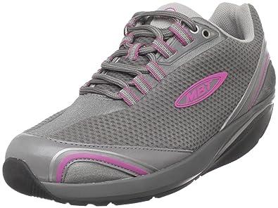 MBT Women's Mahuta Laceup Shoe,Gull Grey,36 EU (US Women's ...