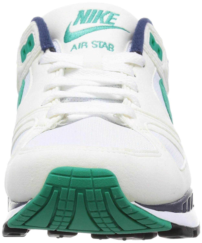 Amazon.com | Nike Men Air Stab (navy/green/white) Size 8.5 US | Running