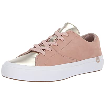 Sperry Women's Haven Lace Up Metallic Sneaker   Loafers & Slip-Ons