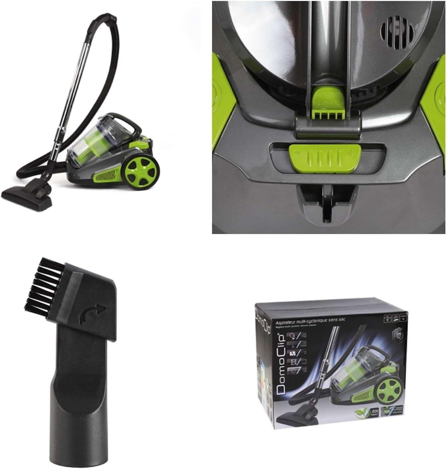 Multi de – Aspirador ciclónico sin bolsa con asa (aspirador, Suelo, 3 litros, potencia de 1000 W, RADIUS 8 metros, verde): Amazon.es: Hogar