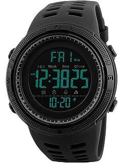 Reloj digital impermeable para hombre, KanLin1986 Reloj LED ...