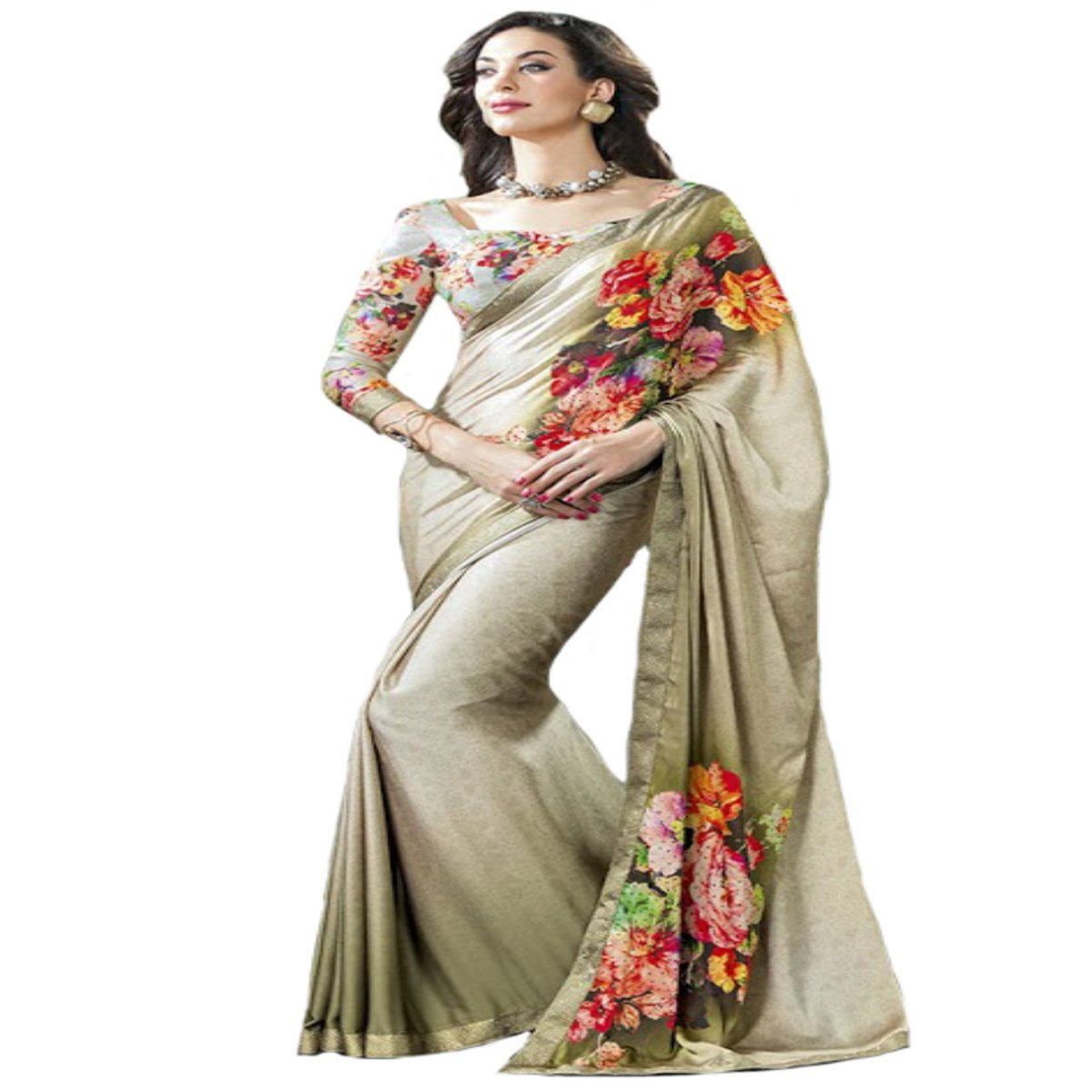 Indian Diwali Wedding Ceremony Party Wear Sari Women Saree Designer Work Original Ethnic Traditional Sexy 877