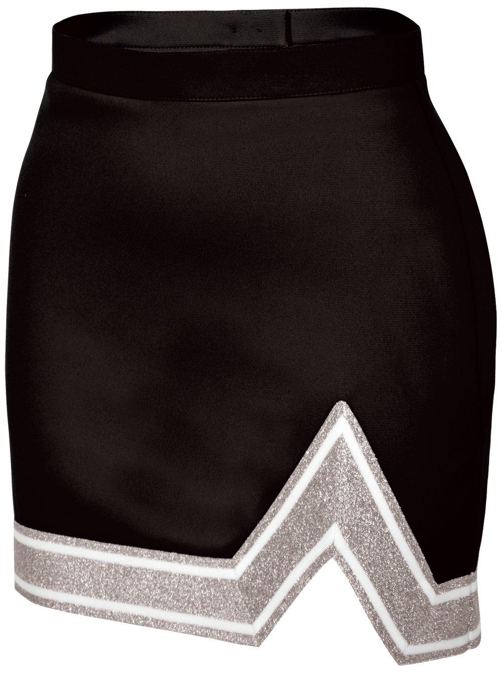 Chassé Womens' Blaze Skirt Black/White/Metallic Silver Adult X-Small
