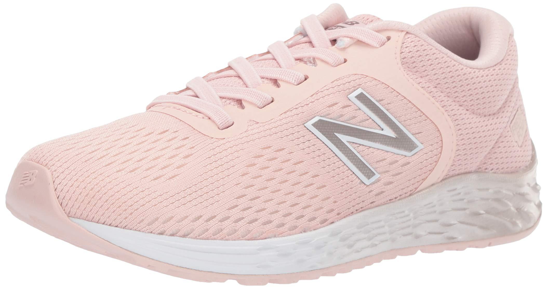 New Balance Girls' Arishi V2 Running Shoe, Oyster Pink Mist, 10 M US Toddler