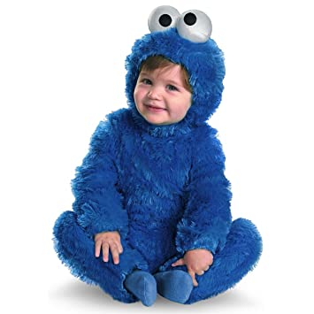 0ccc813dc6d9 Amazon.com  Cookie Monster Comfy Fur Toddler Costume - Baby 12-18  Baby