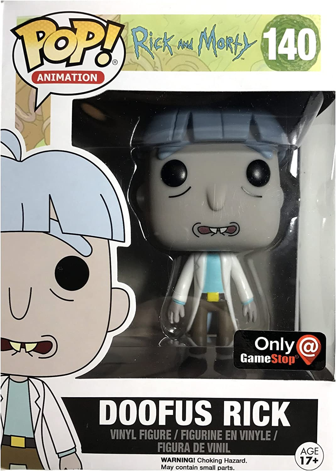 ** FUNKO ACTION FIGURES RICK AND MORTY RICK IN SPACESUIT RARE ** IN STOCK NOW