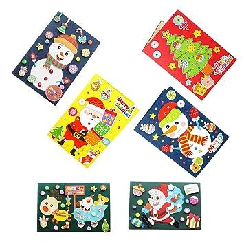 Toyvian Diy Karten Basteln Materialien Weihnachten Grußkarten