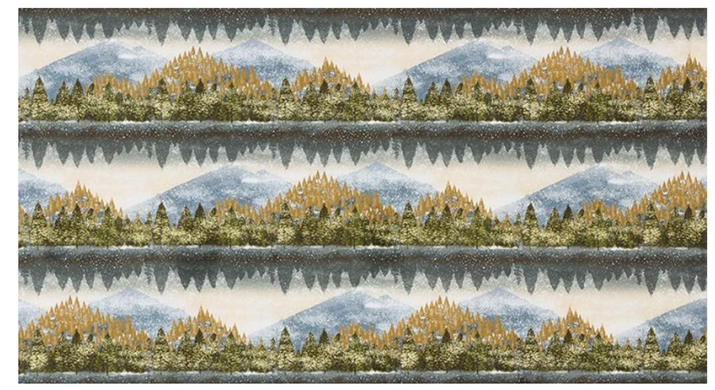 Natures Window Autumn Colorstory 6 Fat Quarter Bundle Plus 3 Panels by Robert Kaufman