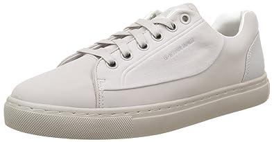G-Star Damen Kendo Slip on Sneakers, Weiß (White 110), 41 EU
