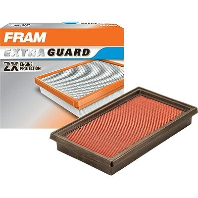 FRAM CA10234 Extra Guard Rigid Rectangular Panel Air Filter: Automotive