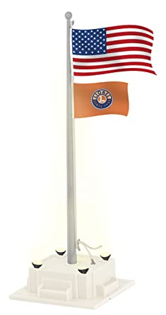 Amazoncom Lionel Flagpole with Lights Toys Games