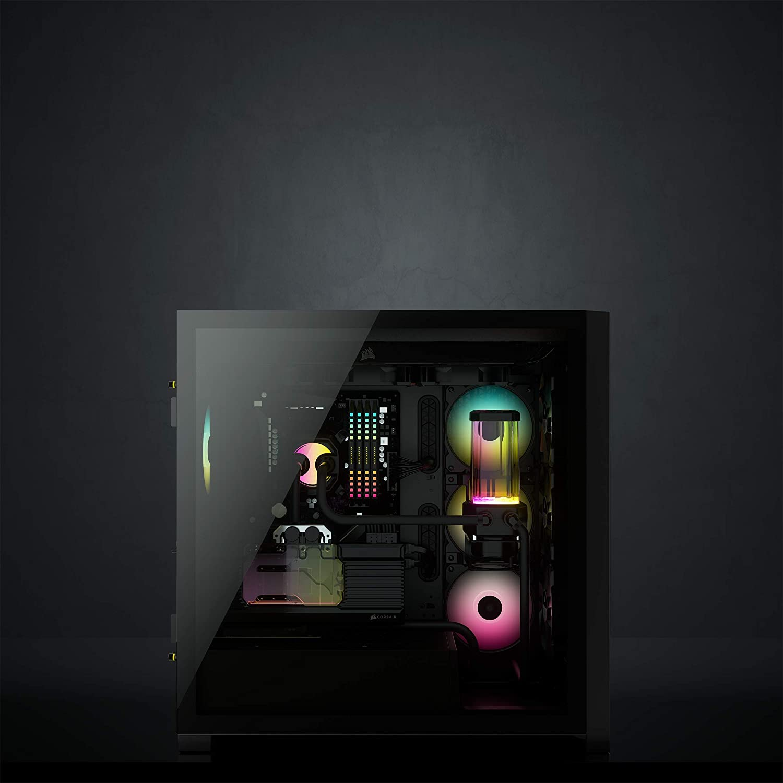 Corsair Icue 5000x Rgb Mid Tower Atx Pc Smart Gehäuse Computer Zubehör