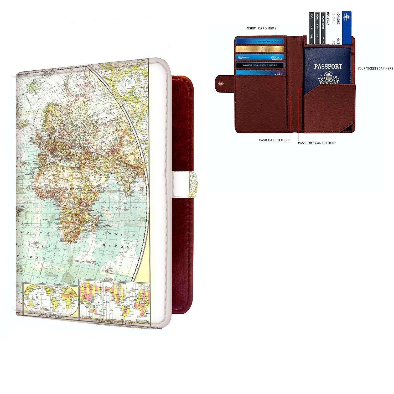Saobao Travel Luggage Tag The Boys Dream Journey PU Leather Baggage Suitcase Travel ID Bag Tag 1Pcs