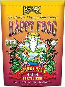 FoxFarm 752289500411 FX14055 Happy Frog Japanese Maple Fertilizer, 1-Pack