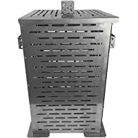Professional Grade Products 9800803 High Grade Stainless Steel Burn Barrel Incinerator Cage, 32″ Height x 22″ Length x 22″ Width