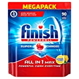 Finish All-in-1 Max Lemon Dishwasher 90 Tablets