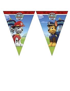 COOLMP - Lote de 12 guirnaldas de 9 banderines de la ...