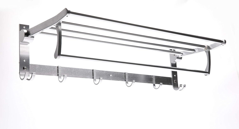 Space Aluminum Towel Rack//Movable Towel Rack//No Drilling available SHENGKAI