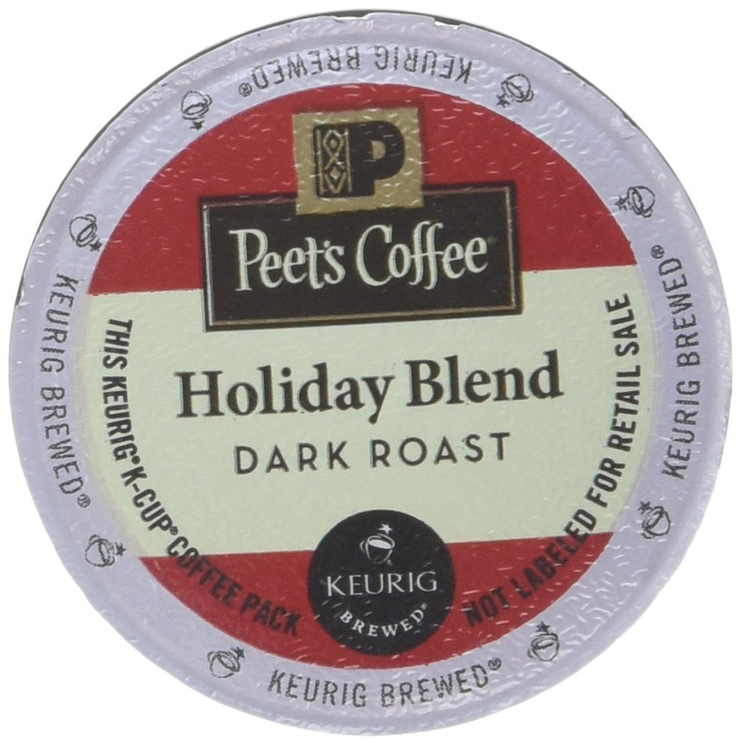 Peet's Coffee Holiday Blend Limited Edition K Cup Coffee for Keurig K-Cup Brewers 40 count