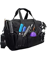Hairdressing Designer Session Bag Large Mobile Hairdresser Barber Kit Holder in Black