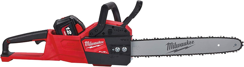 Milwaukee Motosierra inalámbrica 4933464723 M18FCHS-0 18,0 V-XXX, Negro y rojo