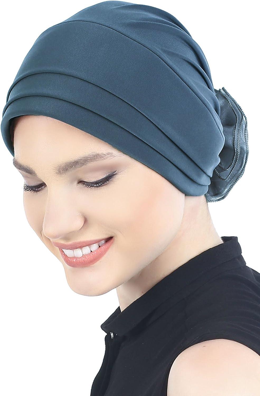 Deresina Headwear Gorra Acolchada y Plegable (Azul grisáceo ...