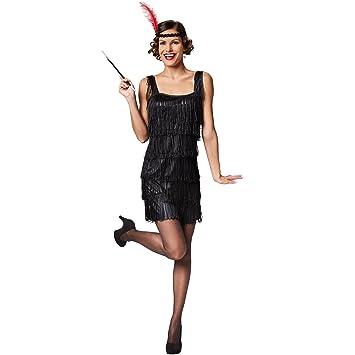 scaricare la consegna Buoni prezzi prezzo speciale per dressforfun Costume da donna Charleston   Con questo elegante costume vi  immergerete negli swinging anni '20   Frange appariscenti (XL   No. 301583)