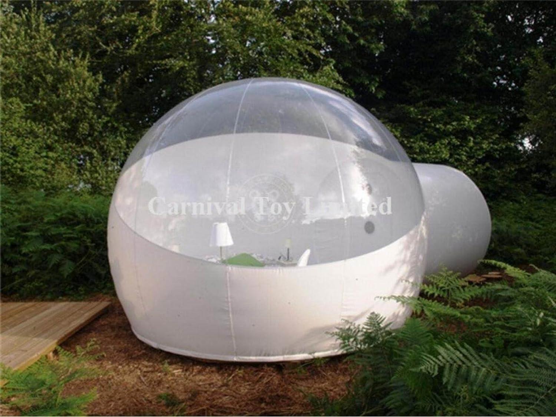 Winddicht Transparente Blase Zelt Erwachsene Blase Zelt PVC Lnflatable Blase Zelt,Translucent-3sqm