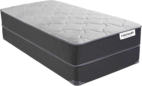 Fortnight Bedding 9 Inch Hybrid Medium Firm Mattress Memory Foam and Pocket Coil- Certipur-US Certified Made in USA (Twin)