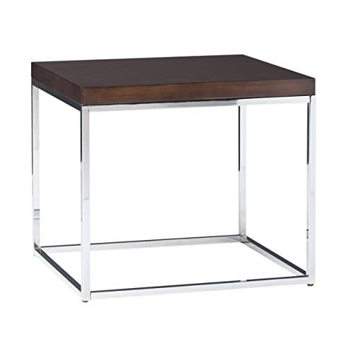 Studio Designs Home Pergola Contemporary Side Table, 25 , Chrome Java