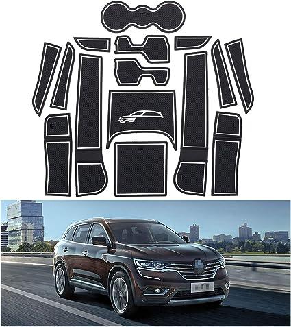 YEE PIN Tapis de Coffre antid/érapant pour Renault Koleos SUV 2017-2019