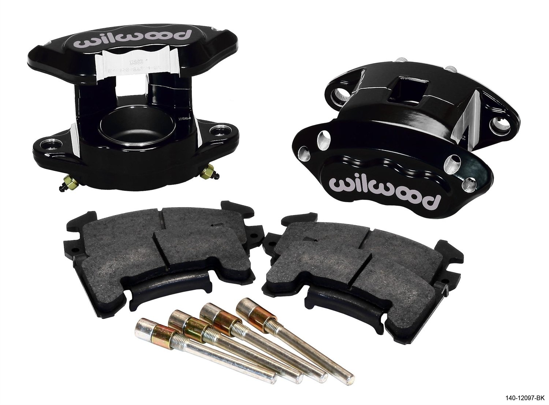 Wilwood 140-12097-BK Black Front Caliper Kit by Wilwood