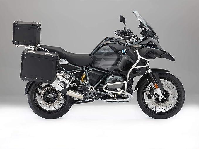 Amazon.com: Nuevo 2018 BMW funda laterales de aluminio negro ...