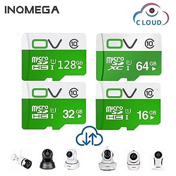 INQMEGA - Tarjeta SD de 32 GB para cámara WiFi (Clase 10, SD ...