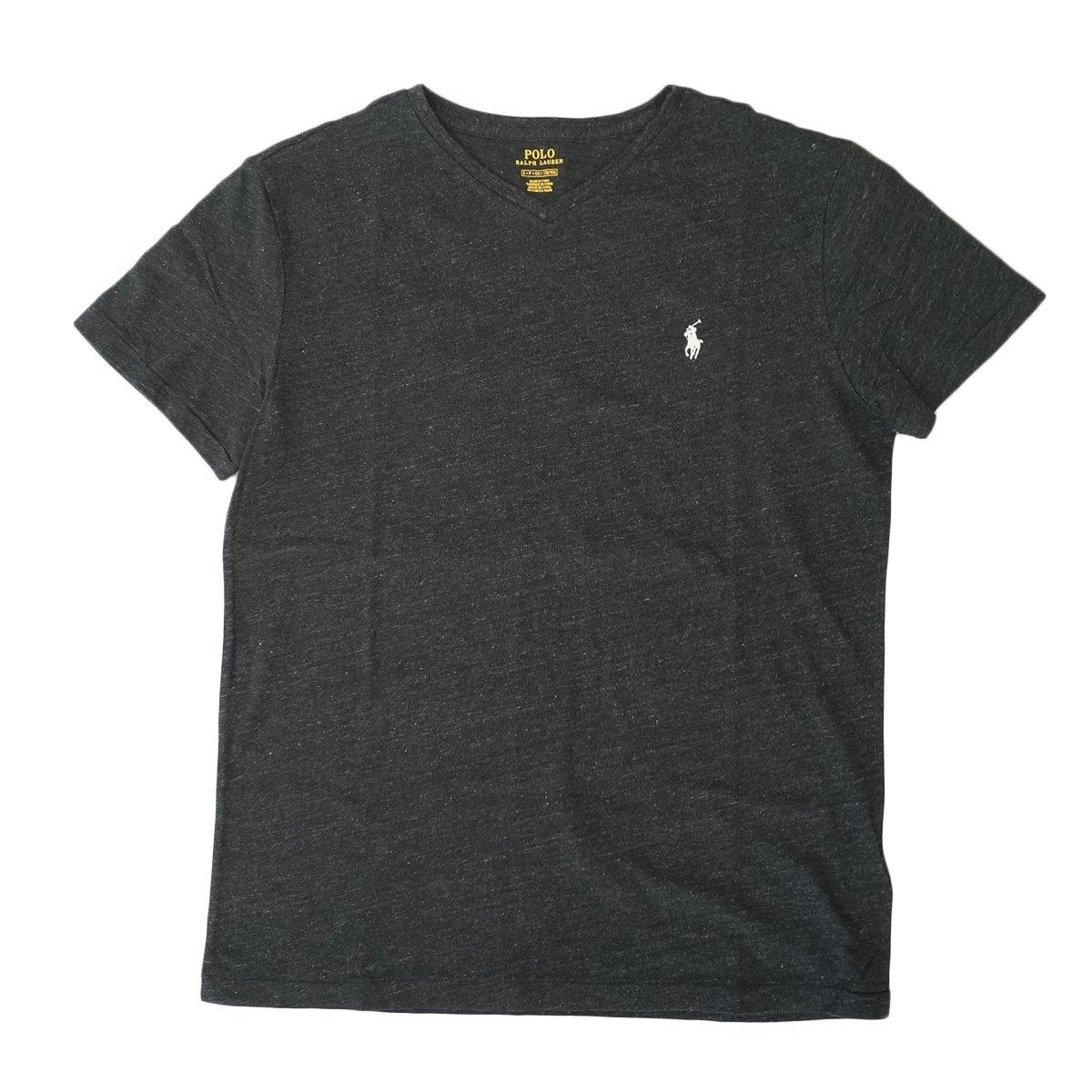 ワンポイント (ポロ ラルフローレン) [並行輸入品] 半袖 Vネック メンズ POLO Ralph Lauren Tシャツ