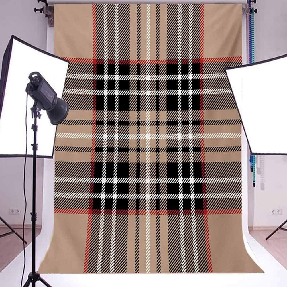 8x8FT Vinyl Photo Backdrops,Chevron Style and Colorful Photoshoot Props Photo Background Studio Prop