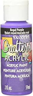 product image for DecoArt Crafter's Acrylic Paint, 2-Ounce, Regal Purple