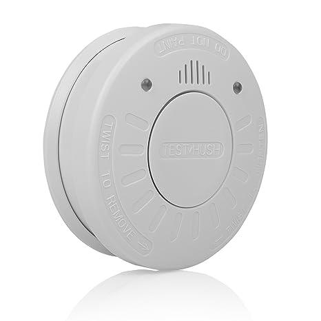 Smartwares 10.025.28 Detector de Humo 3 V, Blanco 1 Pieza: Amazon.es: Bricolaje y herramientas