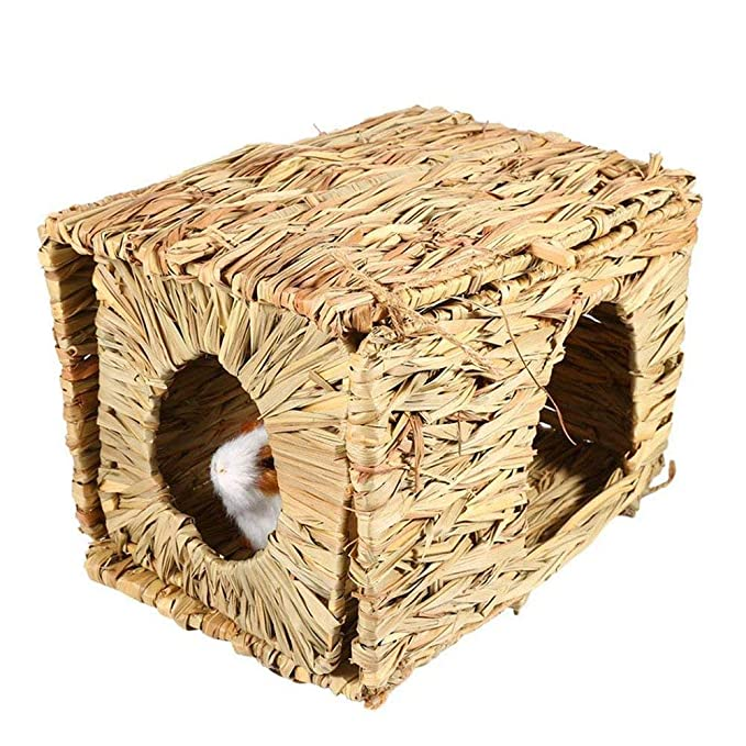 XuBa - Caseta Plegable para césped, Hecho a Mano, para hámster de Conejo: Amazon.es: Hogar