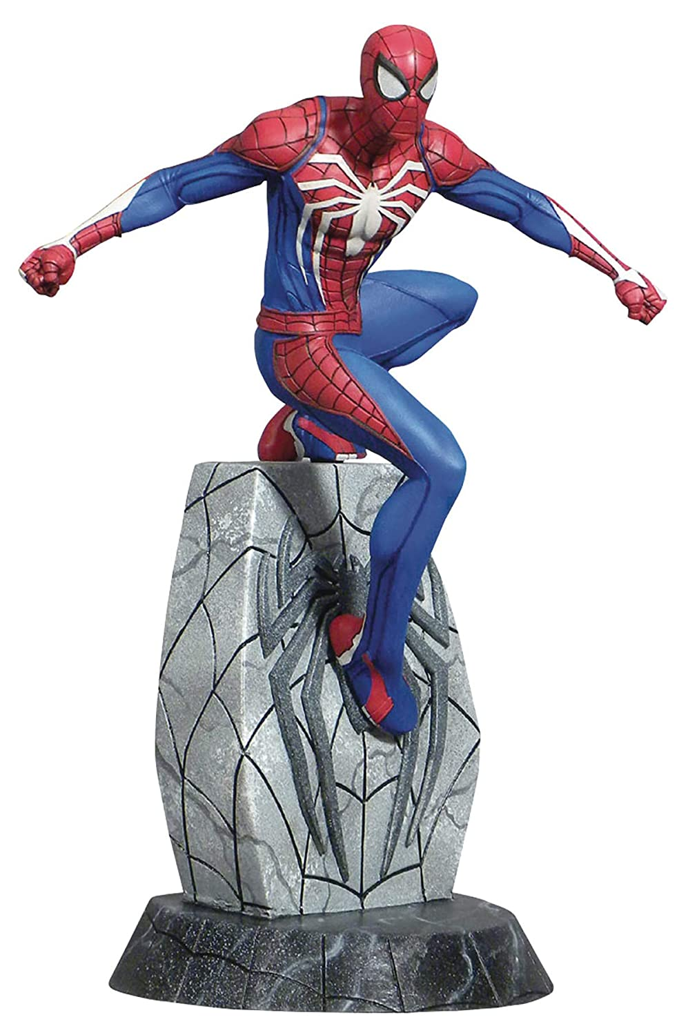 PVC Figure B07M7XYW83 Playstation 4 Video Game Version DIAMOND SELECT TOYS Marvel Gallery Spider-Man
