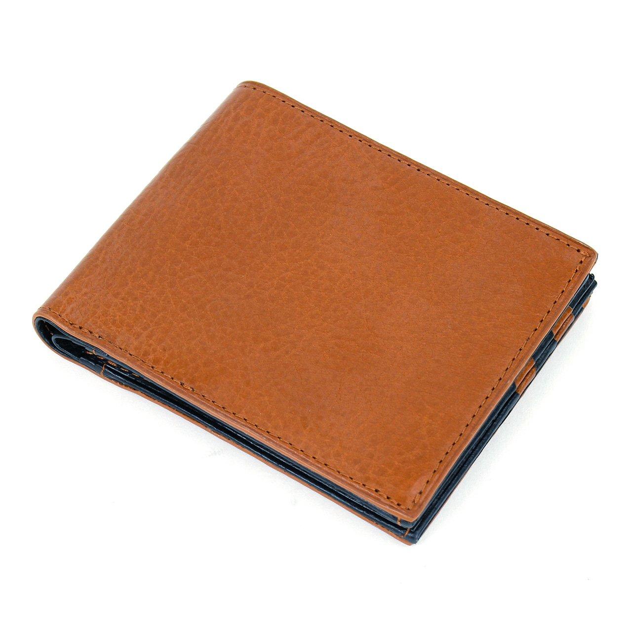 il valore(イルバローレ) アリゾナシリーズ 二つ折り財布 札入れ KA-04 B01KL77446 ブラウン ブラウン