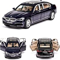 Magicwand 1:24 Scale Die Cast Beemer X7 Pull Back Sedan with Blinking Lights