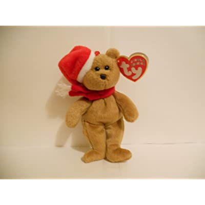 Ty Jingle Beanies 1997 Holiday Teddy - Bear: Toys & Games