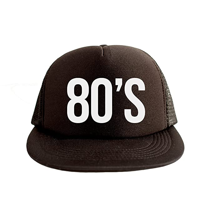 11ea18395a7 Image Unavailable. Image not available for. Color  80 s Cool Swag Hip Hop  Print 80s Style Snapback Hat Cap Black