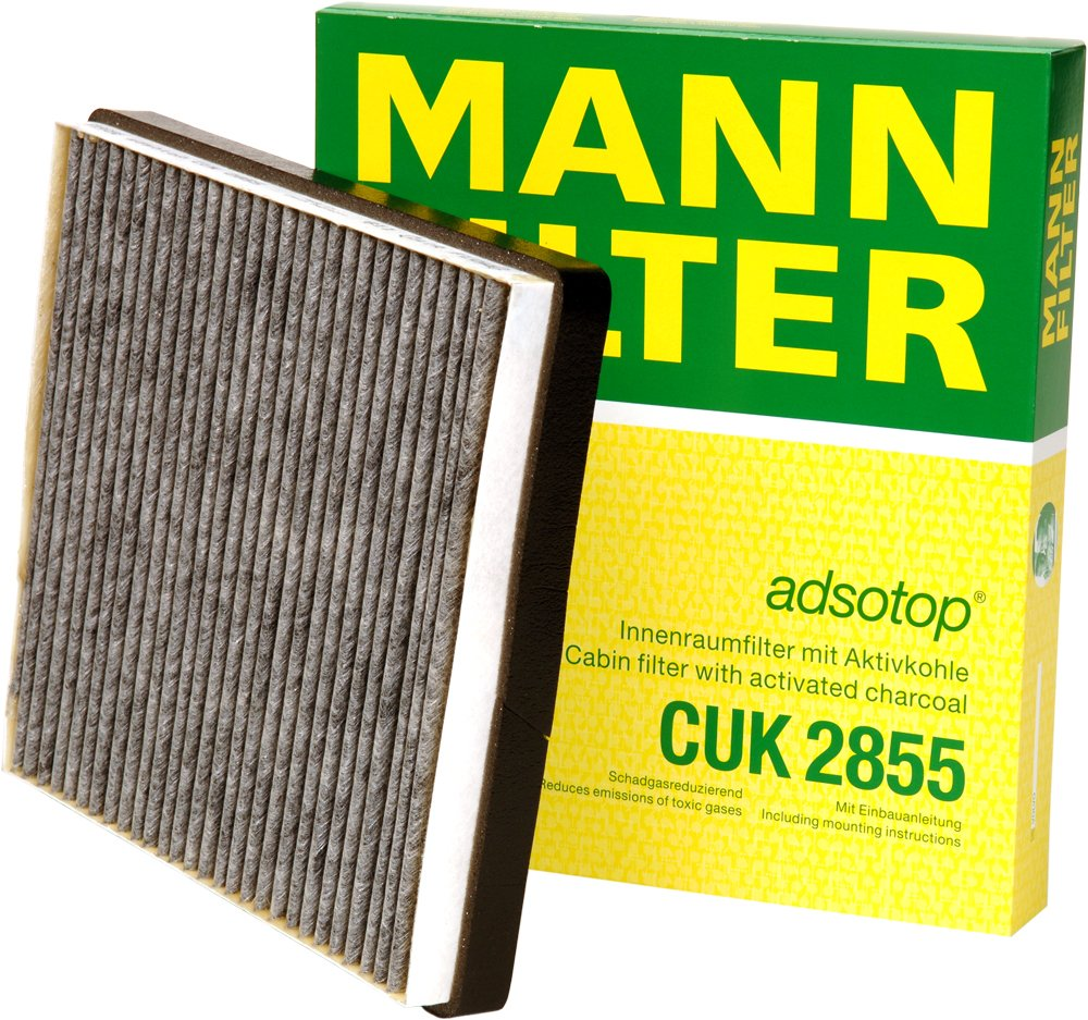 Mann Filter CUK2855 Cabin Air Filter MANN & HUMMEL GMBH CUK 2855