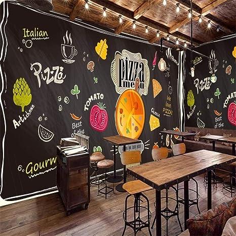 XZDXR Mural 3D Personalizado, Dibujo De Tiza, Pizarra Negra ...