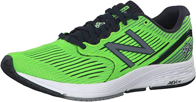 New Balance 890v6 - Zapatillas de running para hombre, color Verde, talla 49: Amazon.es: Zapatos y complementos