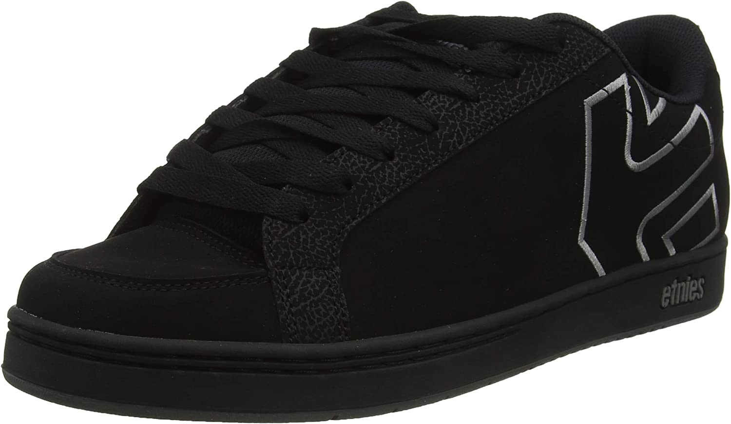 Etnies Men s Kingpin 2 Skate Shoe, Black Grey, 10.5 Medium US